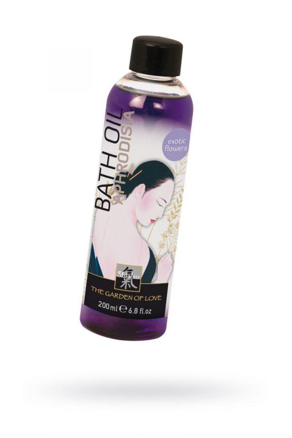 Масло для ванны ''Афродизия'' с запахом экзотических цветов 200 мл, Категория - Интимная косметика/Косметика для ванны и душа/Релакс-средства, Атрикул 0T-00000856 Изображение 1