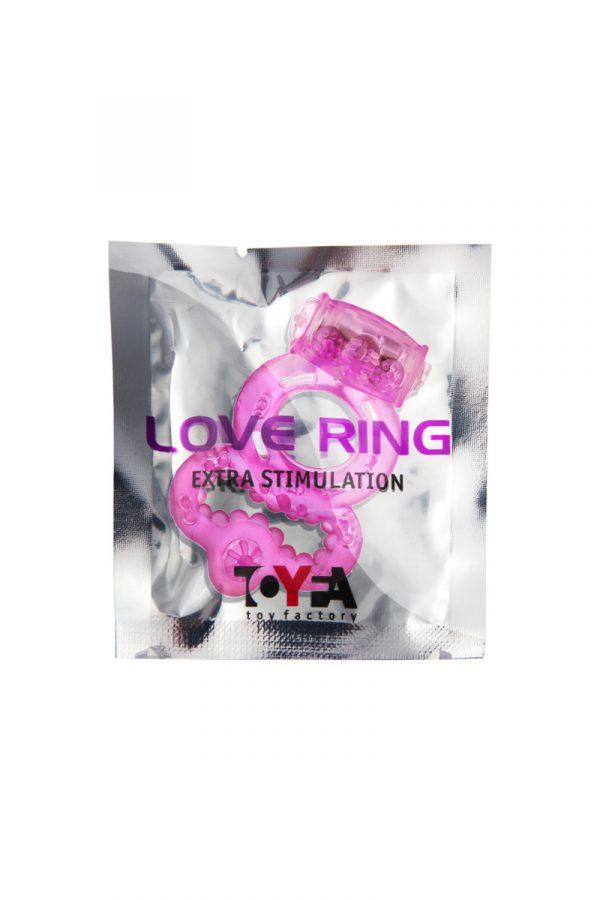 Виброкольцо TOYFA, TPE, розовый, Категория - Секс-игрушки/Кольца и насадки/Кольца на пенис, Атрикул 00138528 Изображение 2