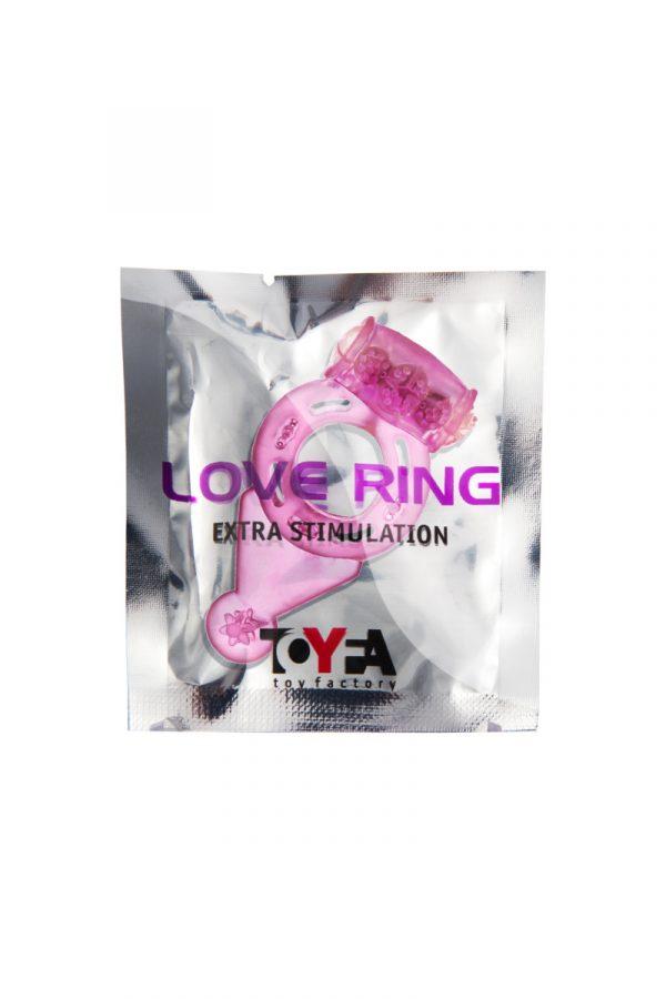 Виброкольцо TOYFA, TPE, розовый, Категория - Секс-игрушки/Кольца и насадки/Кольца на пенис, Атрикул 00138523 Изображение 2