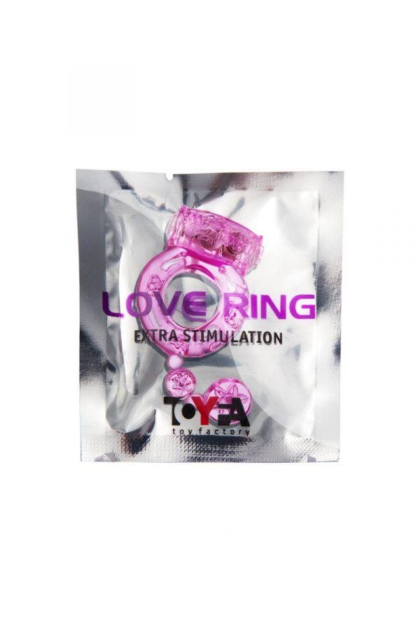 Виброкольцо TOYFA, TPE, розовый, Категория - Секс-игрушки/Кольца и насадки/Кольца на пенис, Атрикул 00138526 Изображение 2