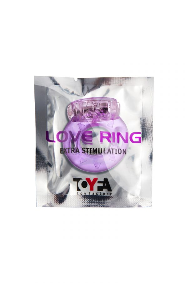 Виброкольцо TOYFA, TPE, фиолетовый, Категория - Секс-игрушки/Кольца и насадки/Кольца на пенис, Атрикул 00138513 Изображение 2