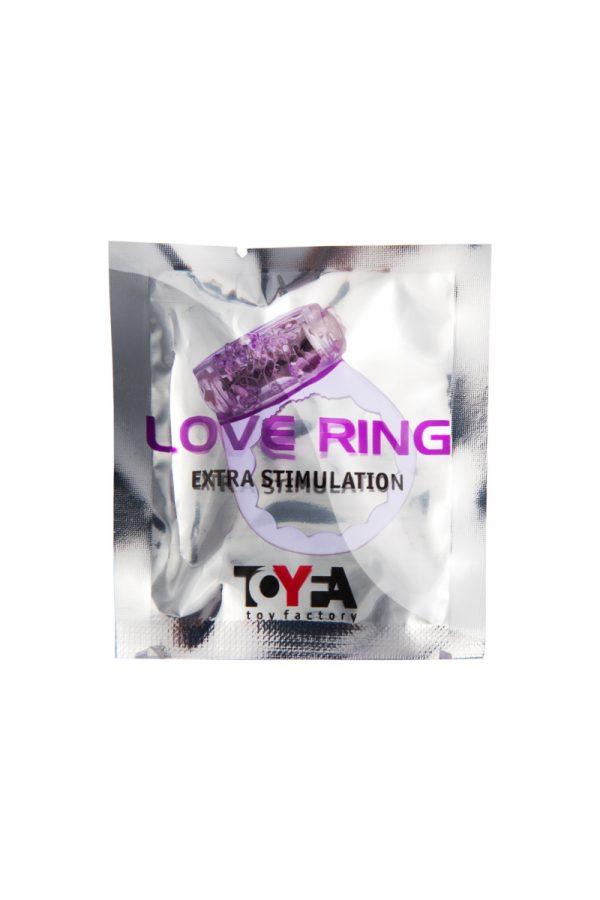Виброкольцо TOYFA, TPE, фиолетовый, Категория - Секс-игрушки/Кольца и насадки/Кольца на пенис, Атрикул 00138516 Изображение 2