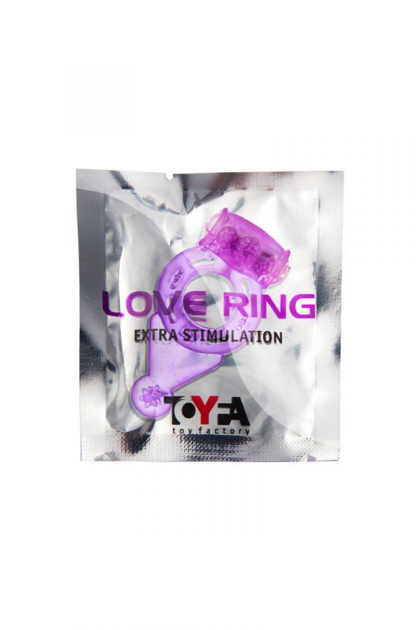 Виброкольцо TOYFA, TPE, фиолетовый, Категория - Секс-игрушки/Кольца и насадки/Кольца на пенис, Атрикул 00138522 Изображение 2