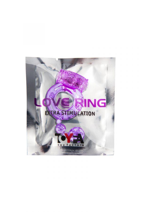 Виброкольцо TOYFA, TPE,фиолетовый, Категория - Секс-игрушки/Кольца и насадки/Кольца на пенис, Атрикул 00138525 Изображение 2