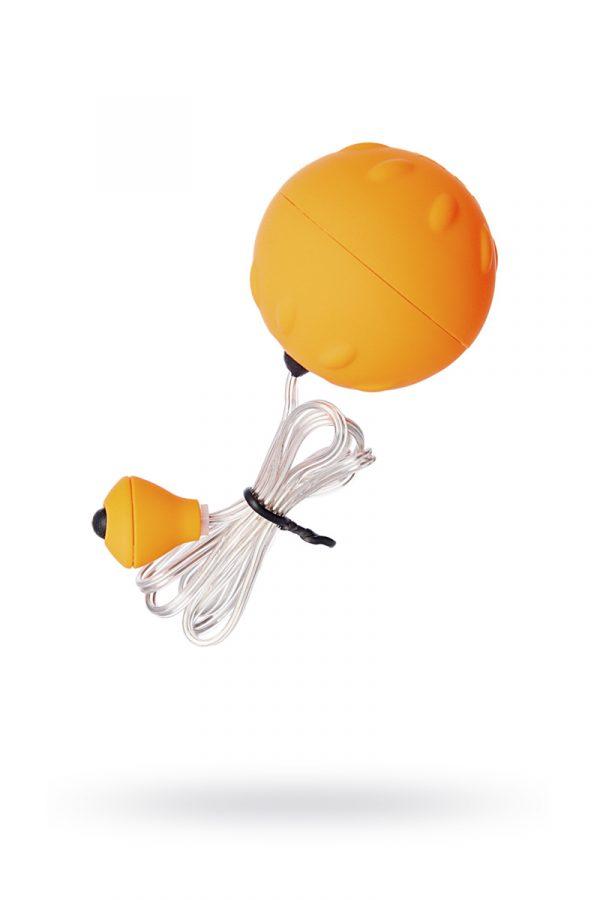 Виброяйцо Sexus Funny Five, ABS пластик, оранжевое, 4,5 см, Категория - Секс-игрушки/Вибраторы/Виброяйца, Атрикул 0T-00000399 Изображение 1