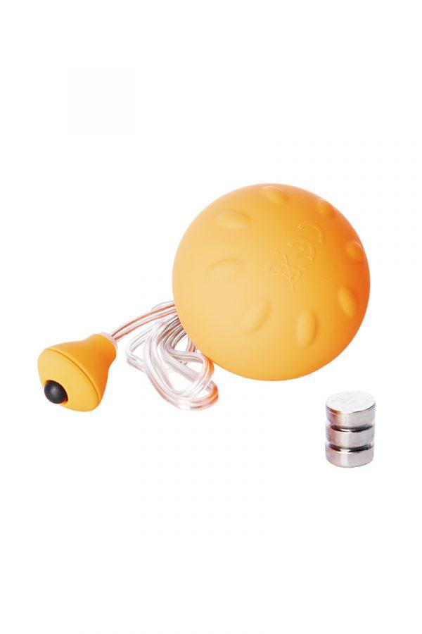 Виброяйцо Sexus Funny Five, ABS пластик, оранжевое, 4,5 см, Категория - Секс-игрушки/Вибраторы/Виброяйца, Атрикул 0T-00000399 Изображение 2