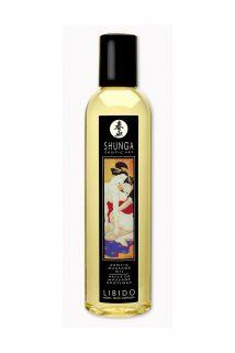 Массажное масло Shunga Экзотические фрукты, возбуждающее, натуральное, 250 мл, Категория - Интимная косметика/Средства для массажа/Гели и масла, Атрикул 00012352 Изображение 1