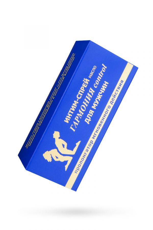 Спрей-прологатор «Гармония Control» для мужчин, 9 мл, Категория - Интимная косметика/Кремы для стимуляции и коррекции размеров/Кремы-пролонгаторы, Атрикул 0T-00000020 Изображение 2