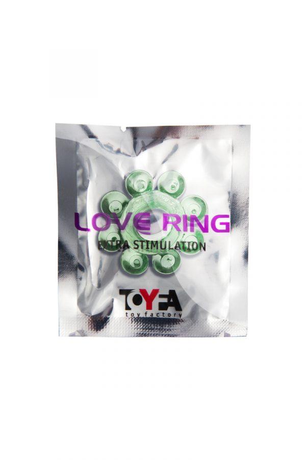 Эрекционное кольцо на пенис TOYFA, TPE, зеленый, Категория - Секс-игрушки/Кольца и насадки/Кольца на пенис, Атрикул 00138543 Изображение 2
