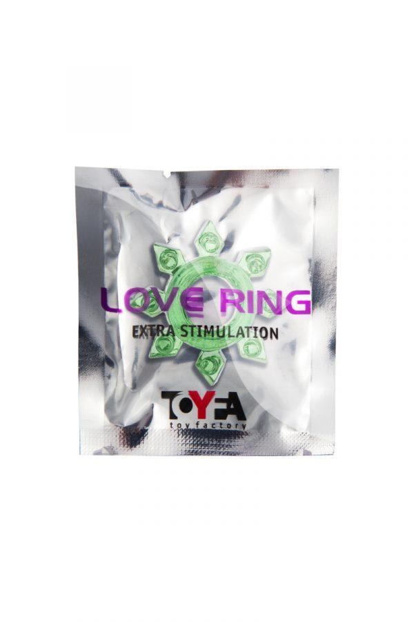 Эрекционное кольцо на пенис TOYFA, TPE, зеленый, Категория - Секс-игрушки/Кольца и насадки/Кольца на пенис, Атрикул 00138547 Изображение 2