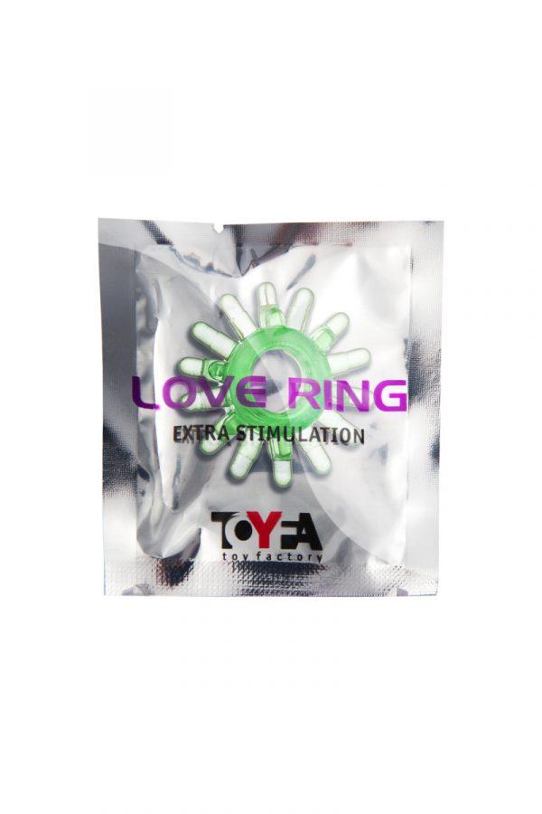 Эрекционное кольцо TOYFA, TPE, зеленый, Категория - Секс-игрушки/Кольца и насадки/Кольца на пенис, Атрикул 00138556 Изображение 2
