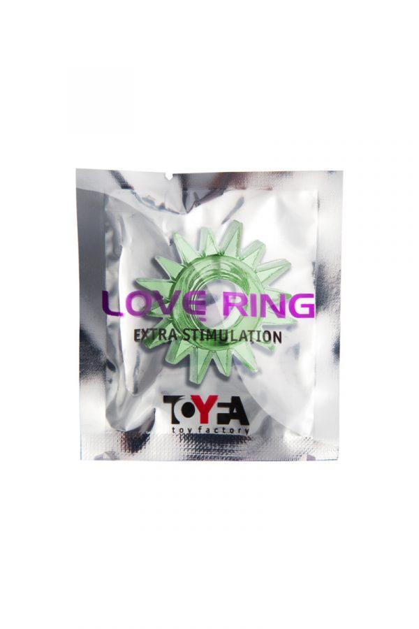 Эрекционное кольцо TOYFA, TPE, зеленый, Категория - Секс-игрушки/Кольца и насадки/Кольца на пенис, Атрикул 00138552 Изображение 2