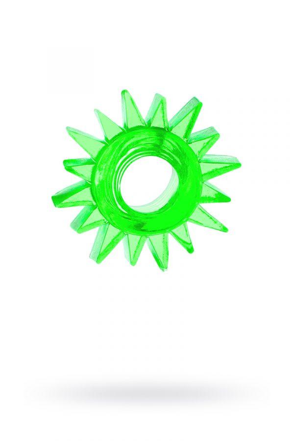 Эрекционное кольцо TOYFA, TPE, зеленый, Категория - Секс-игрушки/Кольца и насадки/Кольца на пенис, Атрикул 00138552 Изображение 1