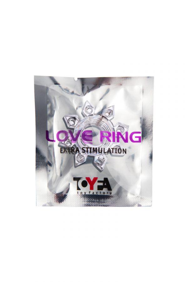 Эрекционное кольцо на пенис TOYFA, TPE, прозрачный, Категория - Секс-игрушки/Кольца и насадки/Кольца на пенис, Атрикул 00138546 Изображение 2