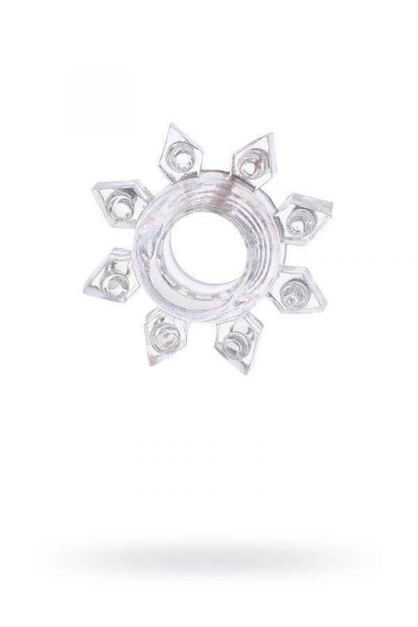 Эрекционное кольцо на пенис TOYFA, TPE, прозрачный, Категория - Секс-игрушки/Кольца и насадки/Кольца на пенис, Атрикул 00138546 Изображение 1