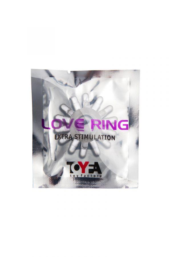 Эрекционное кольцо  TOYFA, TPE, прозрачный, Категория - Секс-игрушки/Кольца и насадки/Кольца на пенис, Атрикул 00138558 Изображение 2