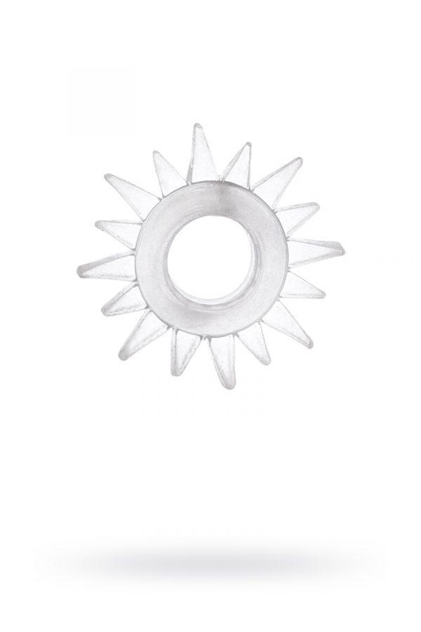 Эрекционное кольцо TOYFA, TPE, прозрачный, Категория - Секс-игрушки/Кольца и насадки/Кольца на пенис, Атрикул 00138551 Изображение 1