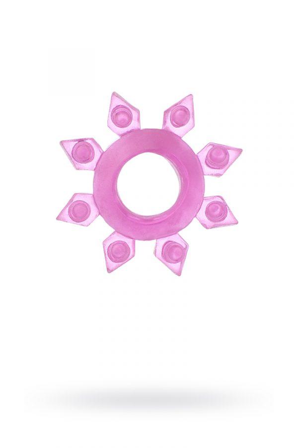 Эрекционное кольцо на пенис TOYFA, TPE, розовый, Категория - Секс-игрушки/Кольца и насадки/Кольца на пенис, Атрикул 00138544 Изображение 1