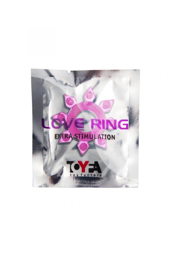 Эрекционное кольцо на пенис TOYFA, TPE, розовый, Категория - Секс-игрушки/Кольца и насадки/Кольца на пенис, Атрикул 00138544 Изображение 2