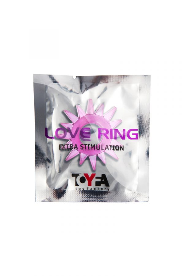 Эрекционное кольцо TOYFA, TPE, розовый, Категория - Секс-игрушки/Кольца и насадки/Кольца на пенис, Атрикул 00138549 Изображение 2