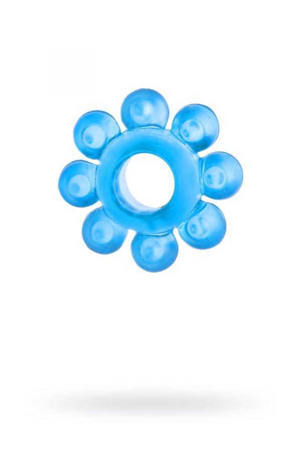 Эрекционное кольцо на пенис TOYFA, TPE, синий, Категория - Секс-игрушки/Кольца и насадки/Кольца на пенис, Атрикул 00138541 Изображение 1
