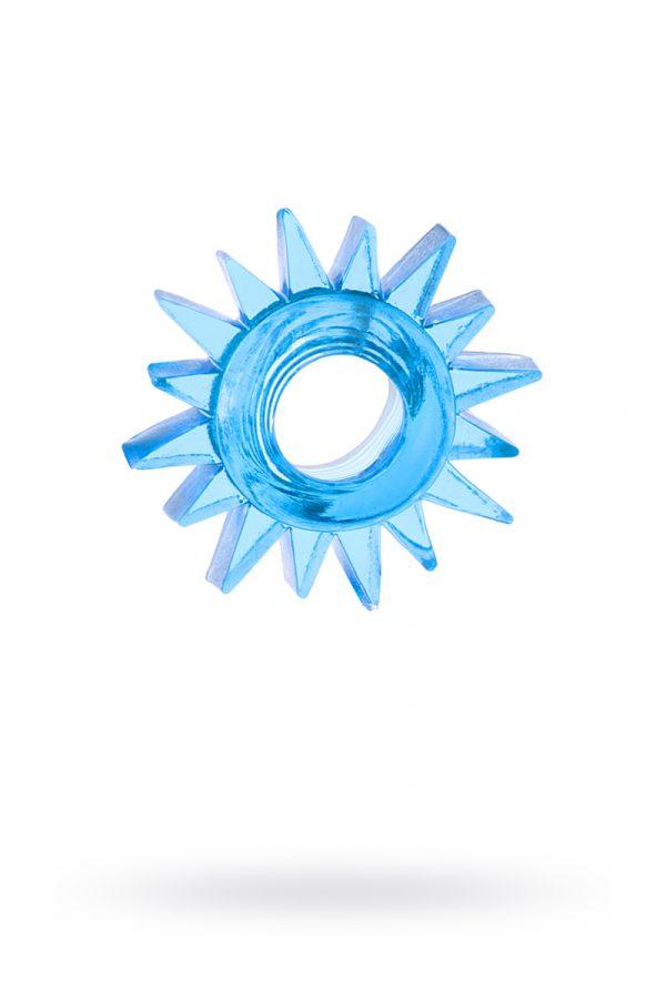 Эрекционное кольцо TOYFA, TPE, синий, Категория - Секс-игрушки/Кольца и насадки/Кольца на пенис, Атрикул 00138553 Изображение 1
