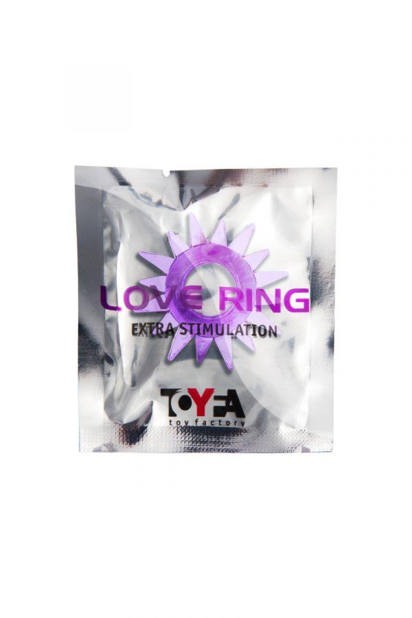 Эрекционное кольцо TOYFA, TPE, фиолетовый, Категория - Секс-игрушки/Кольца и насадки/Кольца на пенис, Атрикул 00138550 Изображение 2