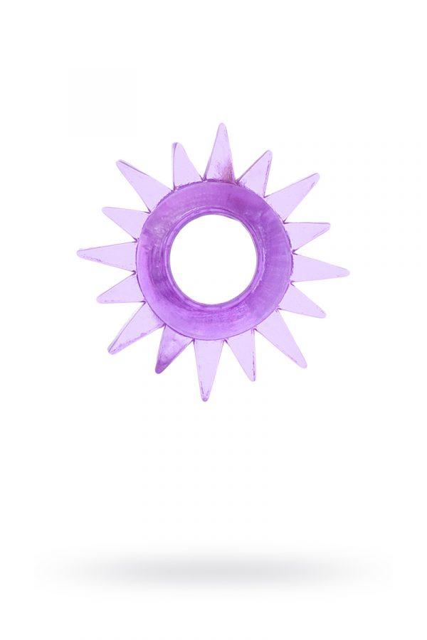 Эрекционное кольцо TOYFA, TPE, фиолетовый, Категория - Секс-игрушки/Кольца и насадки/Кольца на пенис, Атрикул 00138550 Изображение 1