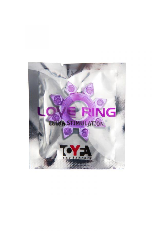 Эрекционное кольцо на пенис TOYFA, TPE, фиолетовый, Категория - Секс-игрушки/Кольца и насадки/Кольца на пенис, Атрикул 00138545 Изображение 2