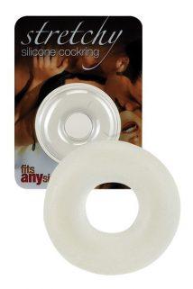Кольцо эрекционное белое, Категория - Секс-игрушки/Кольца и насадки/Кольца на пенис, Атрикул 00131889 Изображение 1