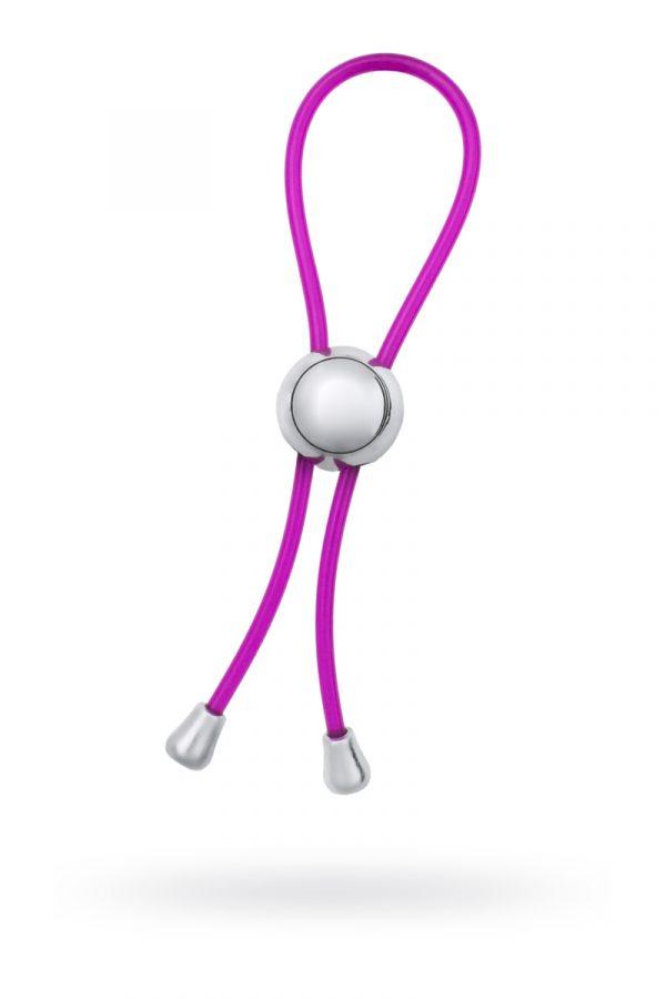 Лассо, TOYFA, ABS пластик, фиолетовый, 10,5 см, Категория - Секс-игрушки/Кольца и насадки/Лассо и утяжки на пенис, Атрикул 00137300 Изображение 1