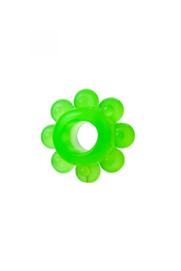 Набор колец на пенис 6 шт TOYFA, TPE, зеленый, Категория - Секс-игрушки/Кольца и насадки/Наборы колец и насадок, Атрикул 00137291 Изображение 3