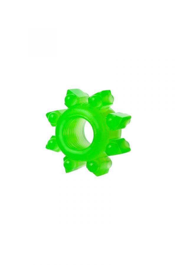 Набор колец на пенис 6 шт TOYFA, TPE, зеленый, Категория - Секс-игрушки/Кольца и насадки/Наборы колец и насадок, Атрикул 00137291 Изображение 2