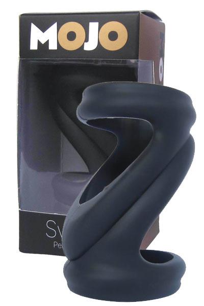 Насадка черная силикон, Категория - Секс-игрушки/Кольца и насадки/Насадки на пенис, Атрикул 00139933 Изображение 1
