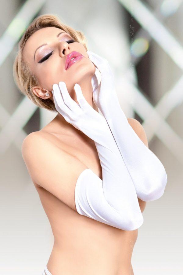 S/L Перчатки длинные белые-S/L, Категория - Белье и одежда/Аксессуары для белья и одежды/Украшения на руки, ноги, Атрикул 00128349 Изображение 1