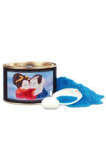 Соль для ванны «Океанский бриз» /Соль, свеча/ 600 г, Категория - Интимная косметика/Косметика для ванны и душа/Релакс-средства, Атрикул 00012372 Изображение 1