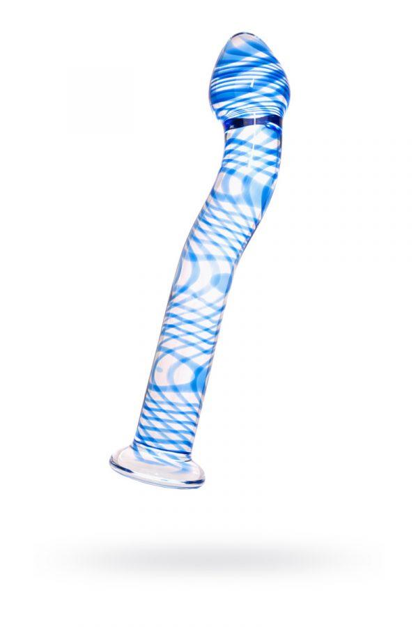 Нереалистичный фаллоимитатор Sexus Glass, Стекло, Прозрачный, 19 см, Категория - Секс-игрушки/Фаллоимитаторы/Нереалистичные фаллоимитаторы, Атрикул 00138460 Изображение 1