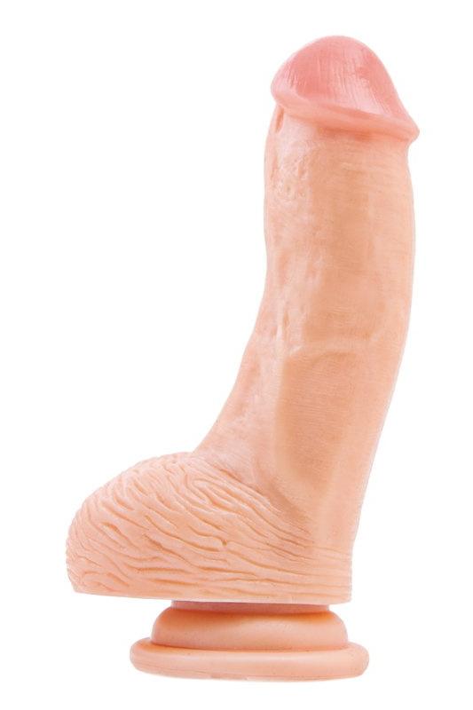 Фаллоимитатор RealStick #207 телесный 15 см, Категория - Секс-игрушки/Фаллоимитаторы/Реалистичные фаллоимитаторы, Атрикул 0T-00000889 Изображение 1