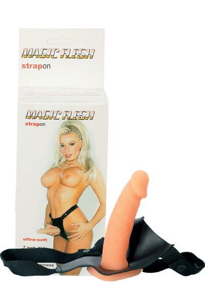 Фаллоимитатор поясной 17,8 см, Категория - Секс-игрушки/Страпоны/Страпоны на креплении, Атрикул 00128685 Изображение 1