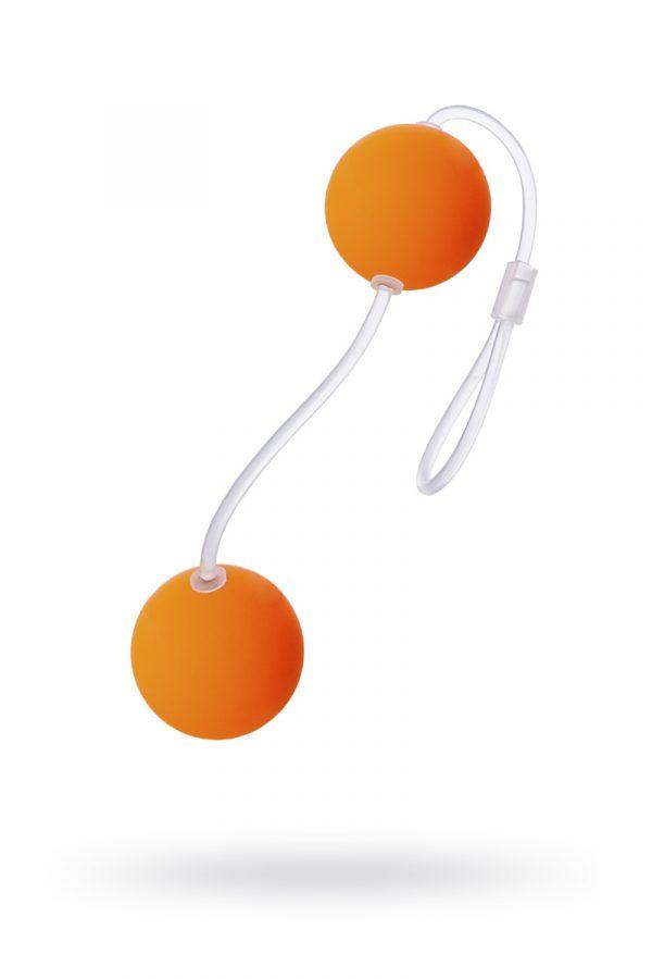 Вагинальные шарики Sexus Funny Five, ABS пластик, Оранжевый, Ø 3 см, Категория - Секс-игрушки/Вагинальные шарики и тренажеры интимных мышц/Вагинальные шарики, Атрикул 0T-00000475 Изображение 1