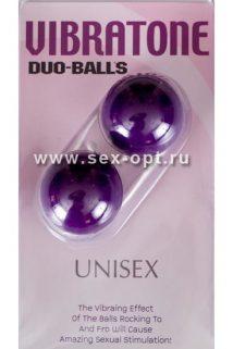 Вагинальные шарики Dream Toys, фиолетовые, Ø3,5 см, Категория - Секс-игрушки/Вагинальные шарики и тренажеры интимных мышц/Вагинальные шарики, Атрикул 00128759 Изображение 1