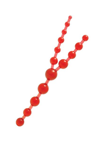 Шарики цепочка трипл 30 см, Категория - Секс-игрушки/Анальные игрушки/Анальные шарики, цепочки, елочки, Атрикул 00010084 Изображение 1