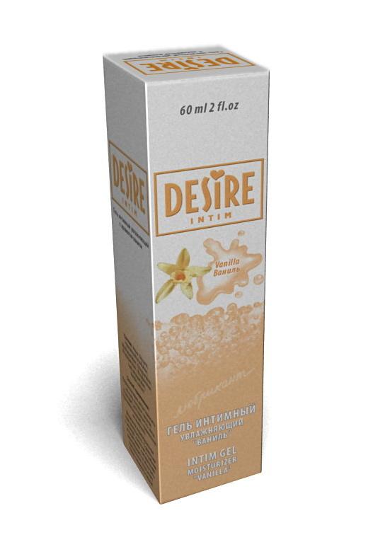 Гель-лубрикант Desire ваниль 60мл., Категория - Гели, смазки и лубриканты/Гели и смазки для вагинального секса, Атрикул 00133685 Изображение 1