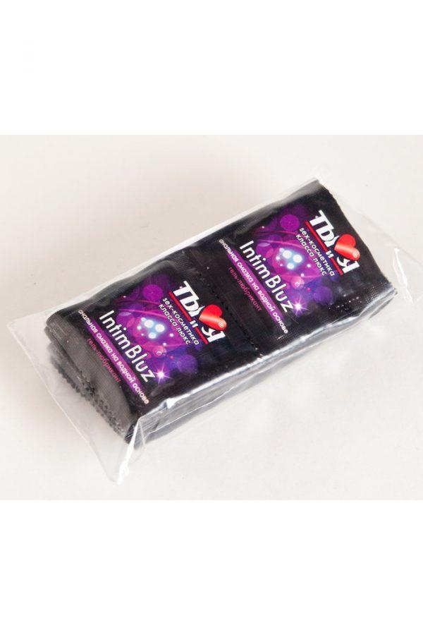 Гель-любрикант Ты и Я ''Intim Bluz'' анальный 4г, 20 шт в упаковке, Категория - Гели, смазки и лубриканты/Гели и смазки для анального секса, Атрикул 0T-00000670 Изображение 2
