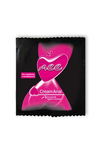 Крем-смазка ''Creamanal АСС'' 4г,20 шт в упаковке, Категория - Гели, смазки и лубриканты/Гели и смазки для анального секса, Атрикул 00130701 Изображение 1