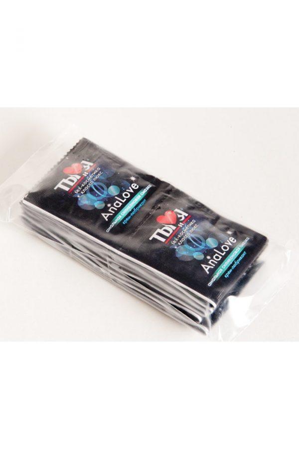 Крем-любрикант Ты и Я  ''АnaLove'' 4г,20 шт в упаковке, Категория - Гели, смазки и лубриканты/Гели и смазки для анального секса, Атрикул 0T-00000881 Изображение 2
