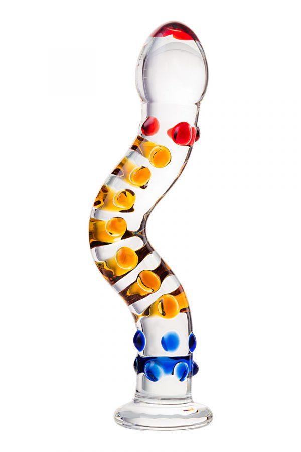 Нереалистичный фаллоимитатор Sexus Glass, Стекло, Прозрачный, 21 см, Категория - Секс-игрушки/Фаллоимитаторы/Нереалистичные фаллоимитаторы, Атрикул 00138468 Изображение 2