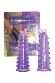 Насадки на пальцы силиконовые, Категория - Секс-игрушки/Кольца и насадки/Насадки на пальцы, Атрикул 00128747 Изображение 1