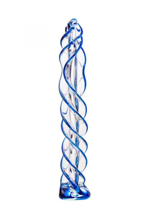 Нереалистичный фаллоимитатор Sexus Glass, Стекло, Прозрачный, 18,7 см, Категория - Секс-игрушки/Фаллоимитаторы/Нереалистичные фаллоимитаторы, Атрикул 00138441 Изображение 2