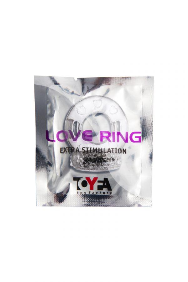 Виброкольцо TOYFA, TPE, прозрачный, Категория - Секс-игрушки/Кольца и насадки/Кольца на пенис, Атрикул 00138515 Изображение 2